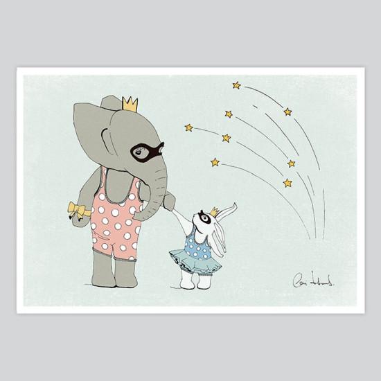 Nursery Art Illustration