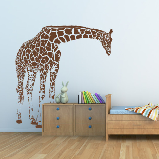 Giraffe Big Wall Decal By Artollo