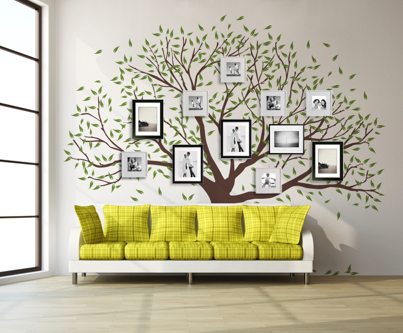 Charming The Family Tree Wall Decals Part 26
