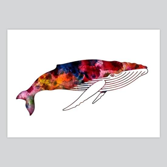Whale Watercolor Art Print By Artollo