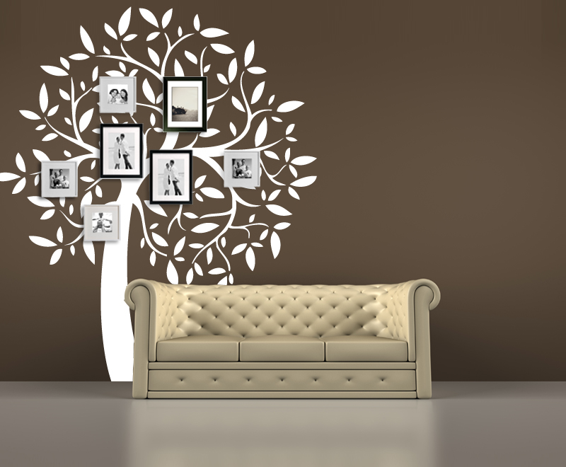 Tree Wall Decals For Living Room By Artollo