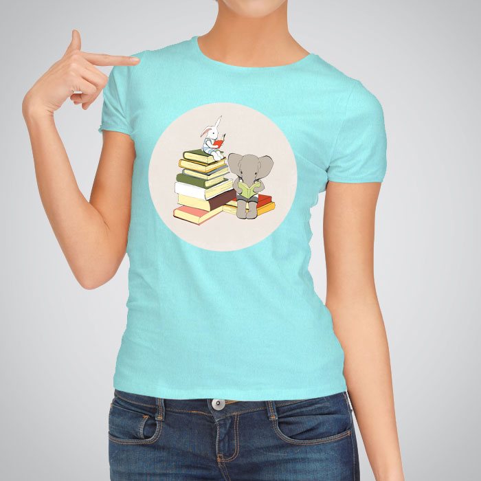 Printed t shirts books by artollo for Books printed on t shirts