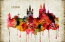 Cologne Watercolor Print