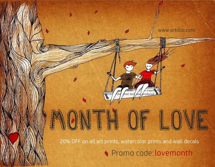 Month of love promo ARTOLLO