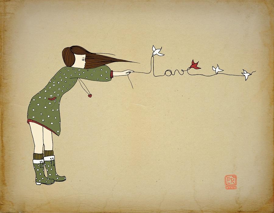 Artollo Art Print Love