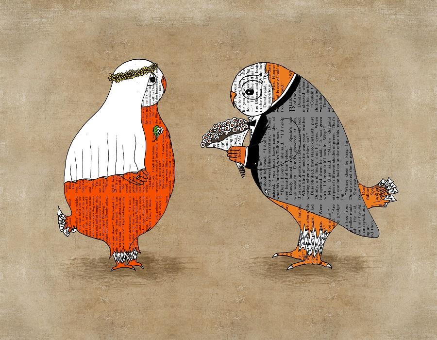 Artollo Print with Owls