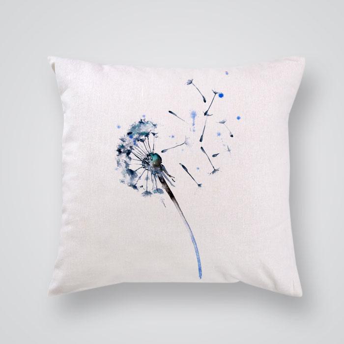 Throw Pillow Cover Make A Wish Print - By Artollo