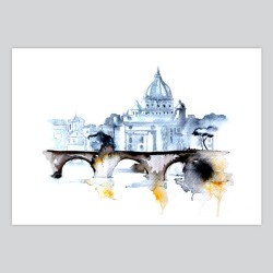 Watercolor Print