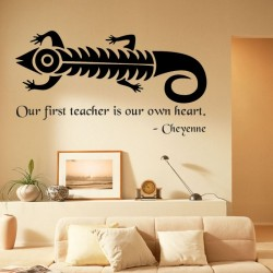 Cheyenne Proverb Wall Stickers