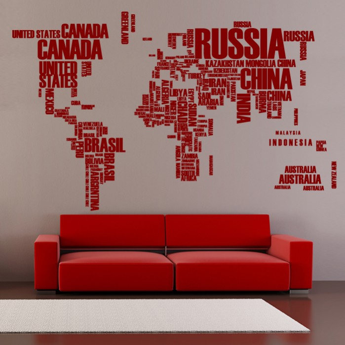 Decorative Wall Decals Big World Map on decorative nautical maps, blue wall maps, office wall maps, decorative map of usa, retro wall maps, decorative travel map, laminated wall maps, red wall maps, decorative vintage maps, decorative framed maps, long antique maps, push pin wall maps, decorative world maps, military wall maps, do it yourself state maps, home wall maps, c s hammond maps, city wall maps, wood wall maps, custom wall maps,