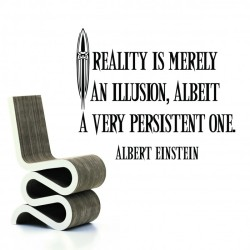 Einstein's Quote On Quality Wall Decal