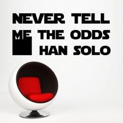 Never Tell Me The Odds Stickers