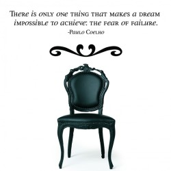 Paulo Coelho's Quote Wall Decals