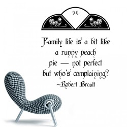Quote By Robert Brault Wall Stickers