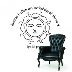 Spanish Proverb Wall Decals