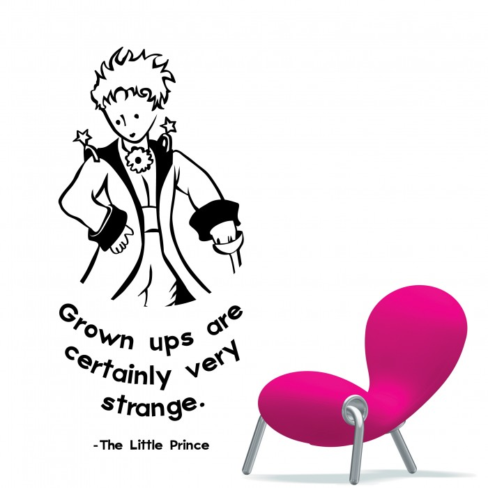 The Little Prince Wall Stickers  By Artollo