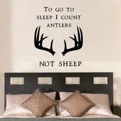 To Go To Sleep I Count Antlers