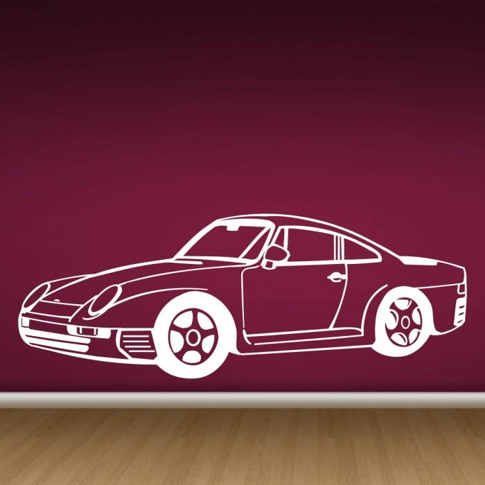 Wall Decals Porsche