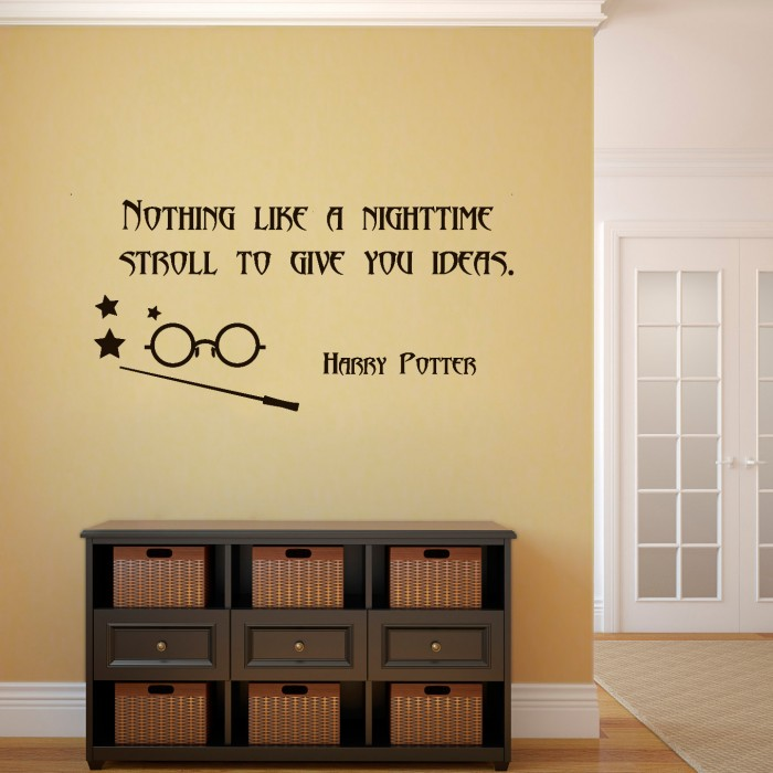 Wall Decals Quote From Mad Eye Moody By Artollo