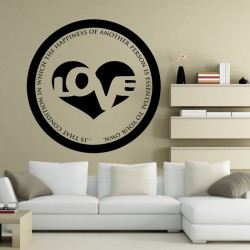 What Is Love Wall Decal
