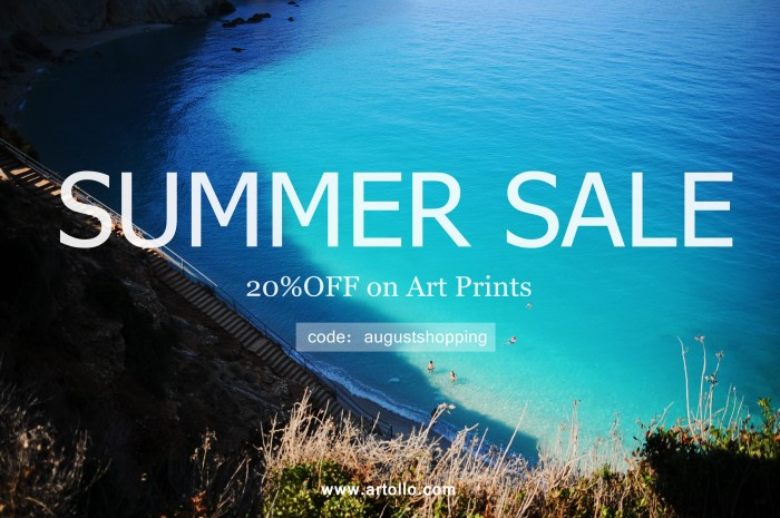 August Sale Artollo Art Prints