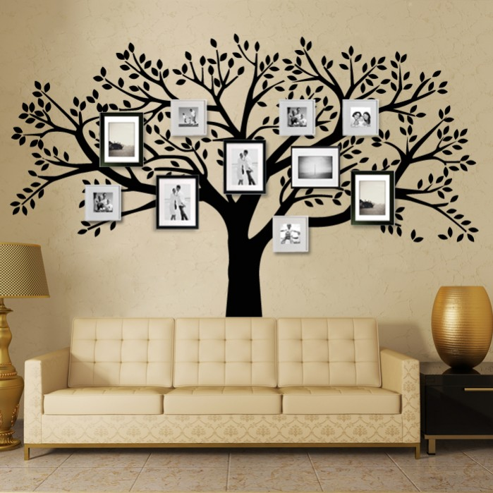 Pics Photos Wall Stickers Animal Large Living Room Wall Cartoon