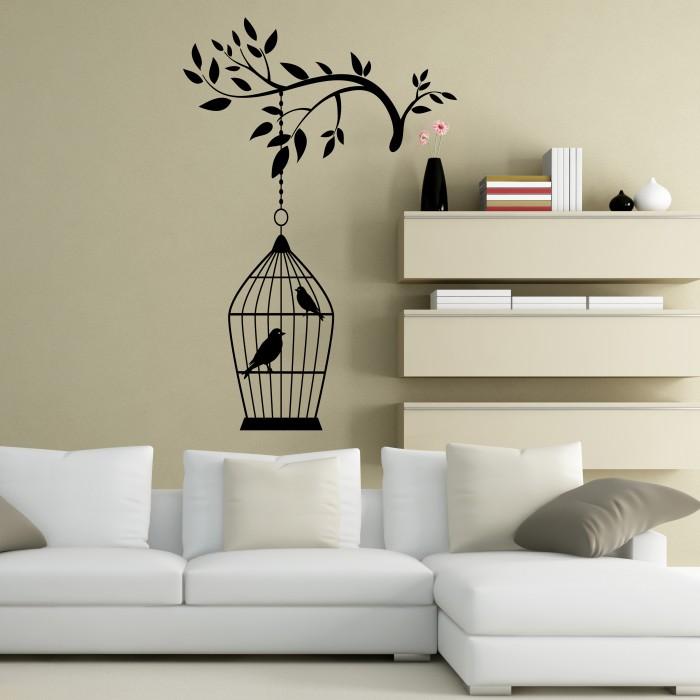 birdcage wall stickers by artollo