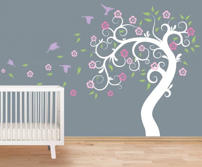 birds and tree wall stickers by artollo