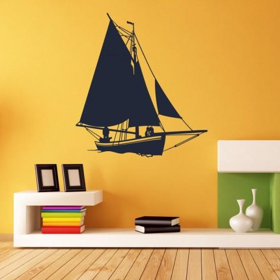 Boat Vinyl Wall Decals