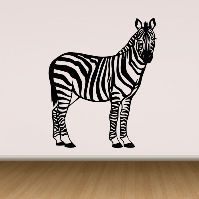 Vinyl Wall Decals Zebra - By Artollo