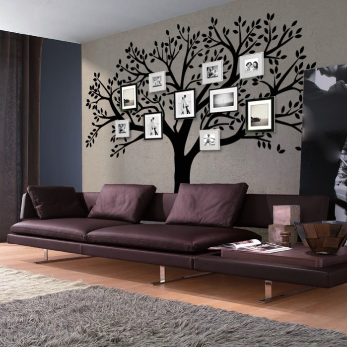 Wall Decals For Living Room Big Tree By Artollo