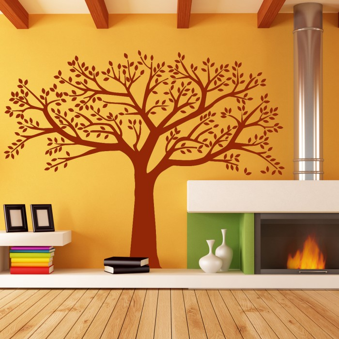 Wall Stickers For Living Room Big Tree By Artollo