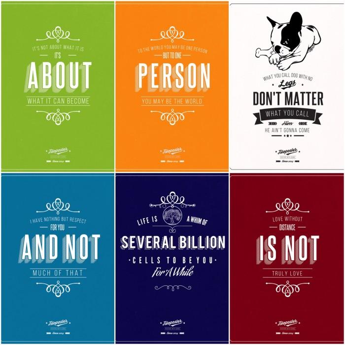 New Quotes Prints Artollo