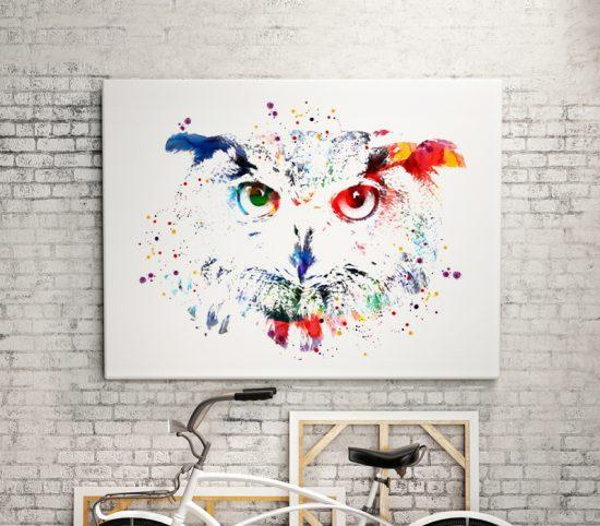 Wall Art Owl