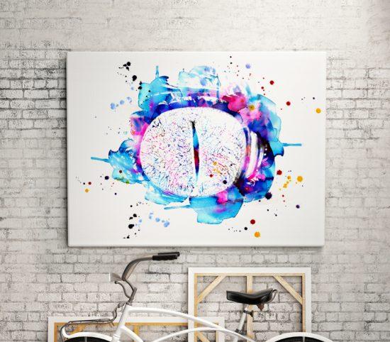 Wall art The eye