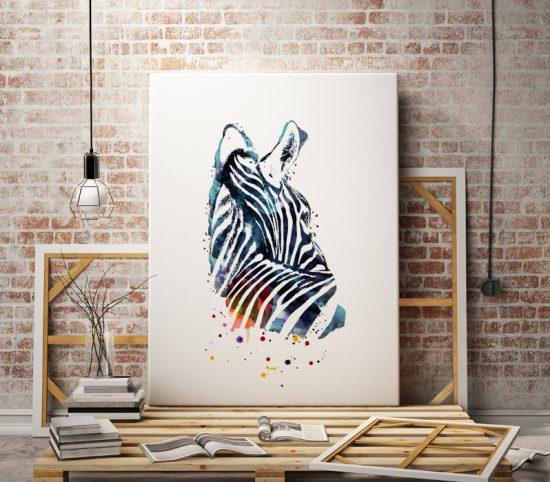 Zebra Wall art