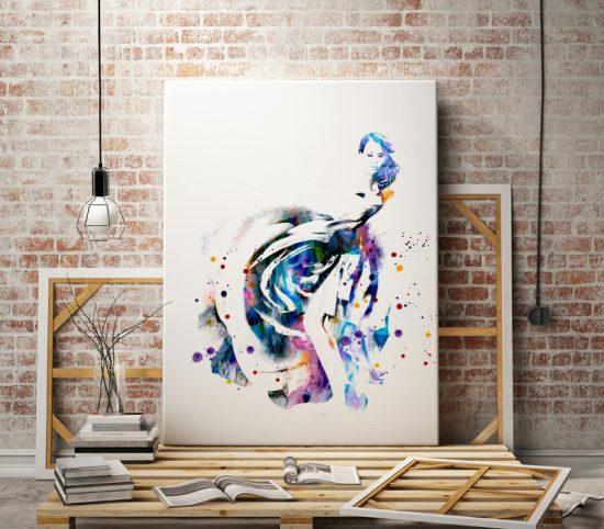 Art print Dream Dress