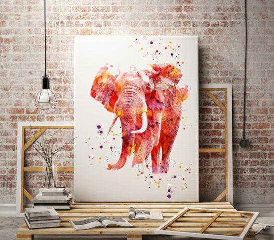 Art print Elephant