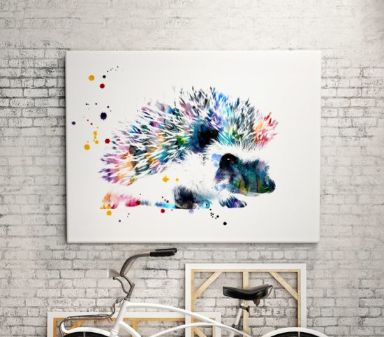 Art print Hedgehog