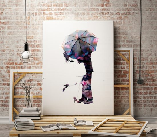 Love poster Under the Umbrella