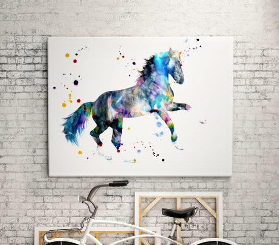 Print Horse