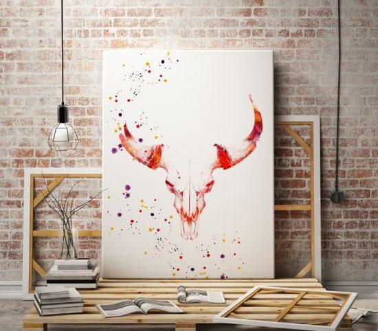 Print Skull