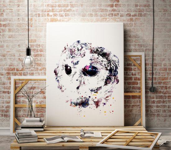 Serious Owl poster