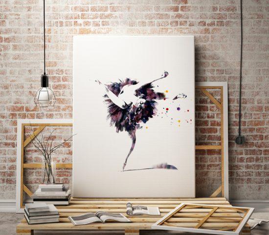 Wall poster Ballerina