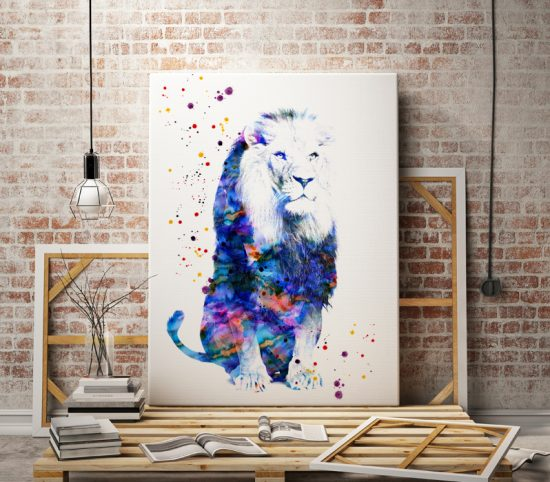 Wall poster Lion