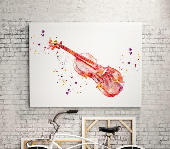 Wall poster Violin