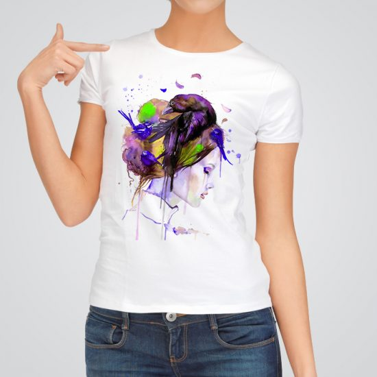 Unique beauty - Art tee for women