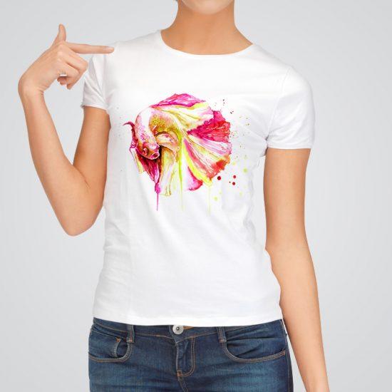 Beautiful Betta fish t-shirt