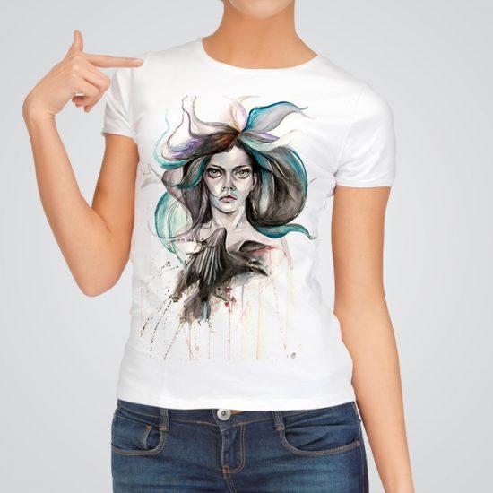 Beautiful witch art t-shirt