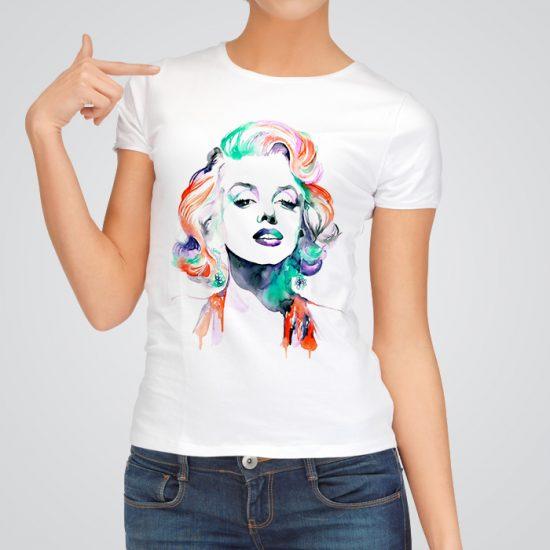Marilyn Monroe art tee